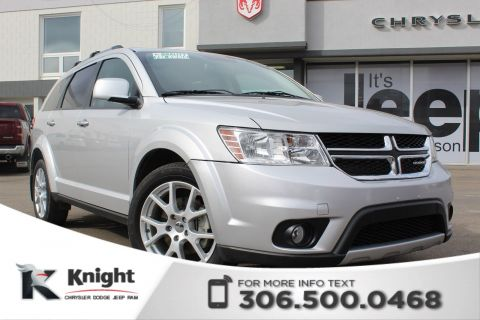 Pre-Owned 2012 Dodge Journey R/T - Navigation - Heated Leather Seats - Remote Start