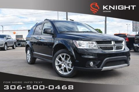 New 2019 Dodge Journey GT | Leather | Heated Seats & Steering Wheel | Navigation | DVD |