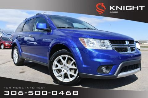 Pre-Owned 2015 Dodge Journey R/T | Leather | Remote Start | DVD |