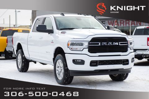 New 2019 Ram 3500 Big Horn Crew Cab | Heated Seats and Steering Wheel | Remote Start