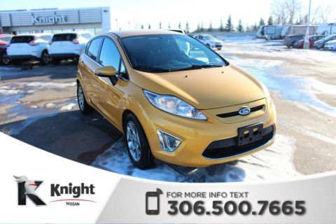 Pre-Owned 2012 Ford Fiesta SES Command Start! Accident Free! Bluetooth! Keyless Entry!