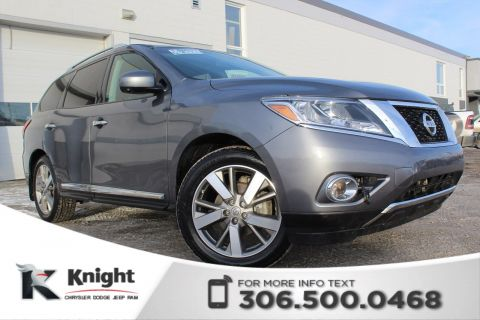 Pre-Owned 2016 Nissan Pathfinder Platinum - Navigation - Heated Leather Seats - Remote Start