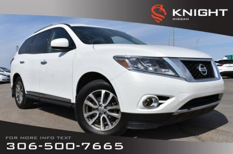 Pre-Owned 2014 Nissan Pathfinder SL | Leather | Receiver Hitch | Remote Start | Bluetooth |