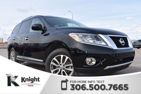 Pre-Owned 2014 Nissan Pathfinder SL Certified Pre Owned | Leather | Remote Start | Accident Free |