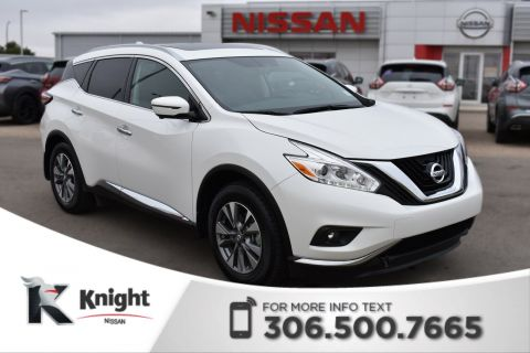 Pre-Owned 2017 Nissan Murano SL! Command Start! Bluetooth! Low KMs! Accident Free!