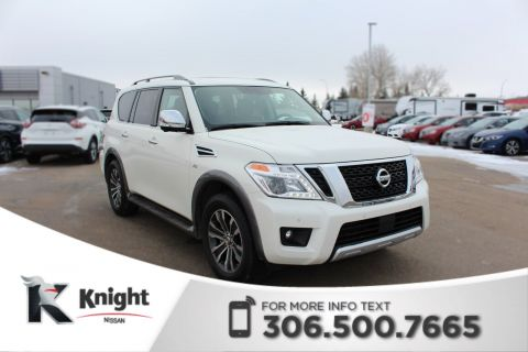 Pre-Owned 2018 Nissan Armada SL - LOW KMs - Accident Free - Command Start - Bluetooth