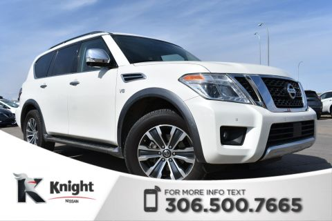 Pre-Owned 2018 Nissan Armada SL LOW KMs | Leather | Remote Start | Navigation |