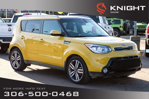 Pre-Owned 2015 Kia Soul SX | Leather | Low KMs | Remote Start